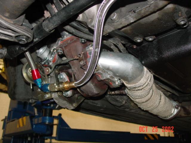 My Low Mount Twin Turbo Lexus V8 1UZFE System - Lextreme com - Lexus