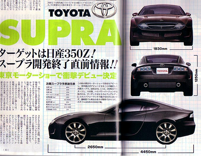 Toyota Mkv Supra Fifth Generation