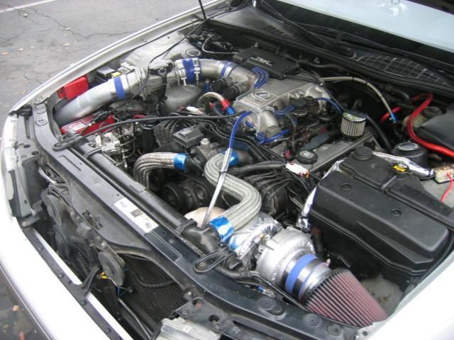 First gen single turbo lexus ls400 ferrarichat the worlds first gen single turbo lexus ls400 publicscrutiny Image collections