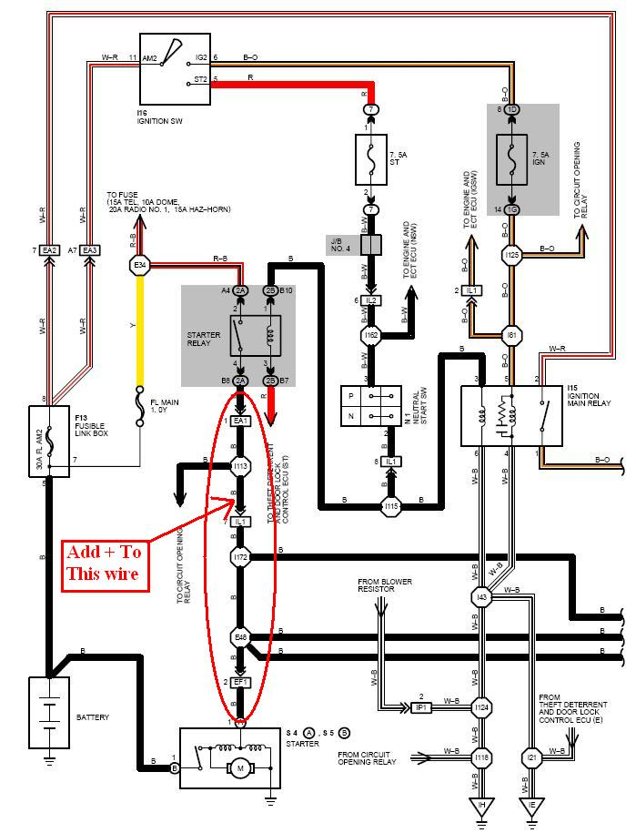 starter diagram lexus faulty starter diagnoses Lexus SC300 Engine at fashall.co
