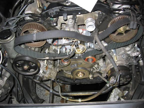 Lexus LS400 Timing Belt Change - Lextreme com - Lexus-Toyota